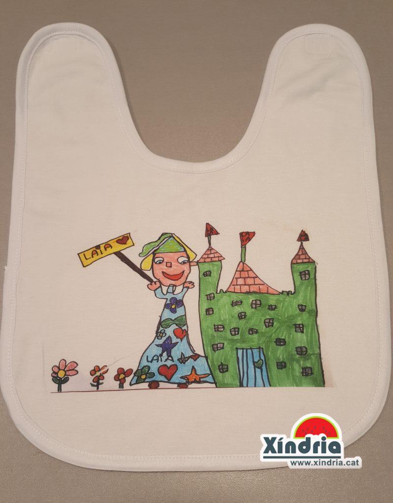 Pitet personalitzat amb dibuixos fets pels nens XindriaCat