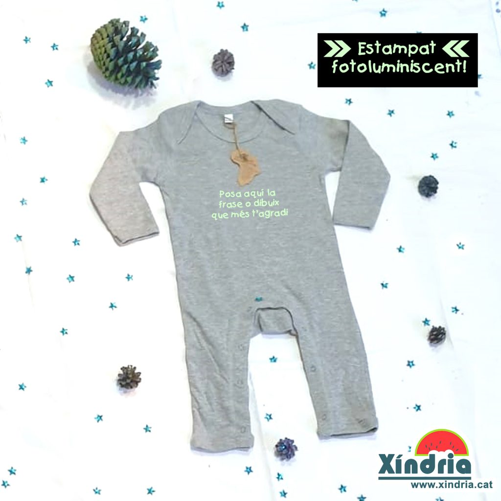 Pijama bebé fotoluminiscent. Regals Nadal. Regals per nens i nenes. Pijames familiars.