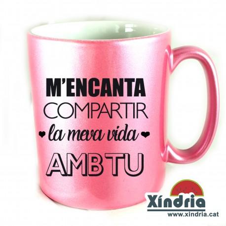 TASSA METAL·LITZADA M'ENCANTA