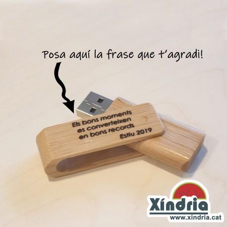 MEMÒRIA USB PERSONALITZADA